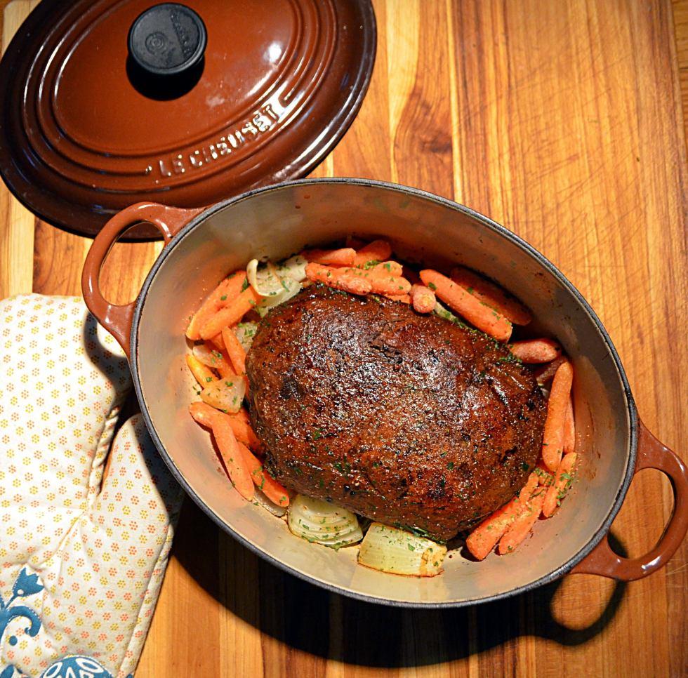 Blackbeet Beef Vegan Seitan by Avocados and Ales
