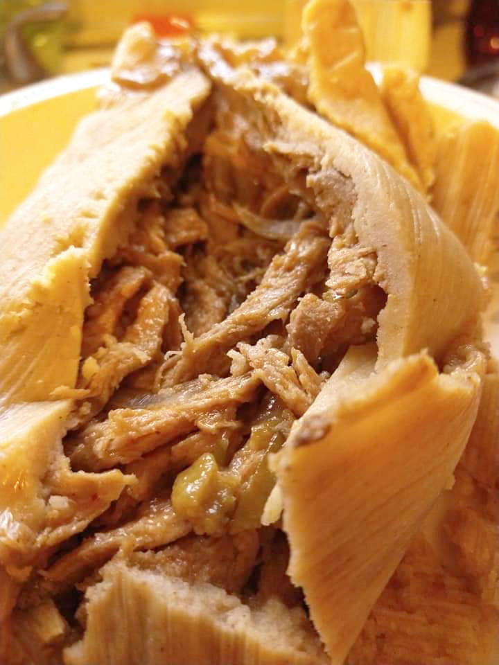 Vegan-Pork-Chile-Verde-Tamales