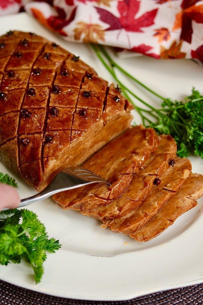 Cheeky Chickpea Vegan Ham
